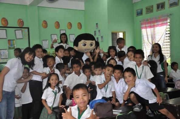 Book Mobile goes to Bagong Silang & Cupang Elementary Schools