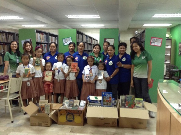 DLSZ Library  Donated Books  to  Cupang Elementary School