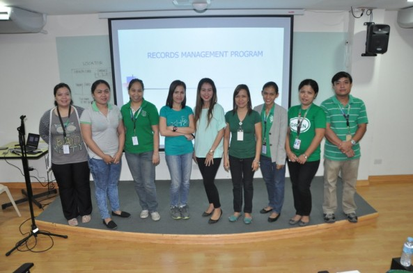 Echo Seminar on Records Management and Disaster Management