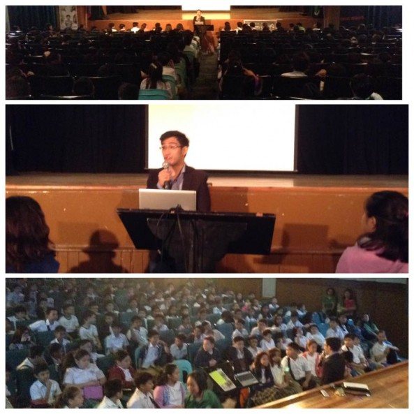 C.N. Tan , the author of the book Charlie Sparks visited the school for a Book talk and Book Signing event last July 22, 2015 at the DDA.In collaboration with Fullybooked, the event was attended by all Grade 6 students