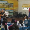 Ms. Prado and Ms. Tumaob Conducts Bookmobile library  at  Jacobo Zobel Elementary School last September 29, 2015  , Calatagan ,Batangas