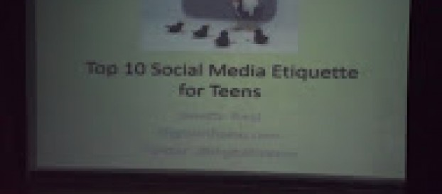Talk on  Social Media Etiquette to High School Students  held at Sylvia P. Lina last November 11, 2015 with  Ms. Janette Toral our Resource Speaker
