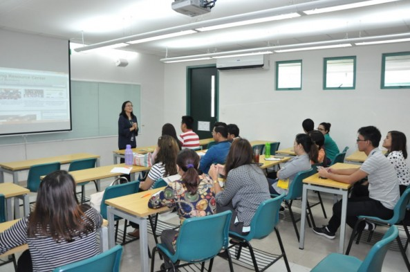 Ms. Carolina Ballesteros and Mr. Anthony  Palaganas  conducted an orientation on the use and care of Equipment  to all New Teachers last June 6, 2017 and  BRafeNHS Teachers last June 14, 2017