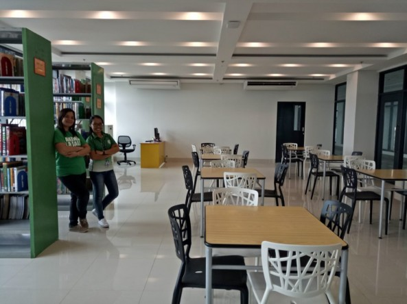 Senior High School Library Opens today ,June 21, 2017 at   Vermosa Campus Imus ,Cavite