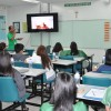 Ms. Ballesteros,Mr. Palaganas and Mr. Yadao conducted an Orientation on the use of LED TV to all Grade 6 and Grade 8 Teachers  last December 6, 2017
