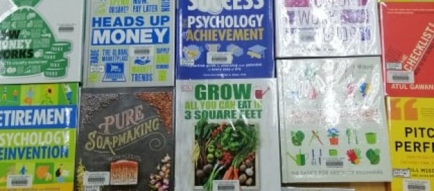 Junior High School Newly Acquired Books