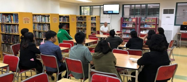 EBSCO  E- resources Training with the Librarians and Staff last June 24, 2019