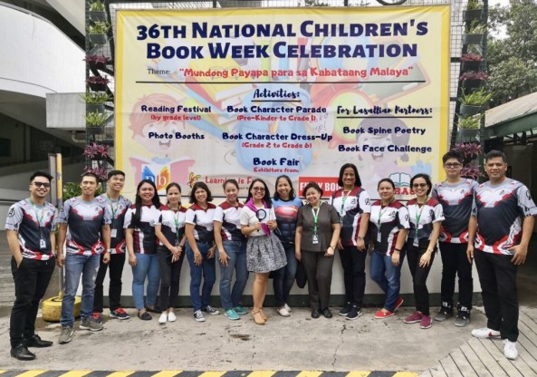 "The LRC celebrated the 36th Children's Book Week with the Theme: ""Mundong Payapa para  sa Kabataang Malaya "" last July 15-19, 2019"