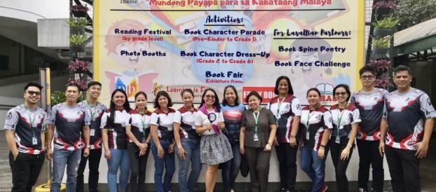 """The LRC celebrated the 36th Children's Book Week with the Theme: """"Mundong Payapa para  sa Kabataang Malaya """" last July 15-19, 2019"""