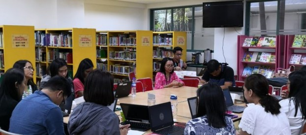 LRC Kumustahan Activity 2019 and EBSCO Hands-on Training with the GS Reading ,BRafheNHS,School and Counselling Unit, Filipino GS and Vermosa Teachers