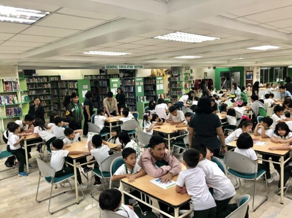 KINDER LIBRARY TOUR-August 29, 2019