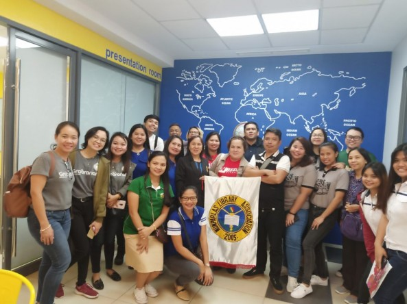 Ms.Dimatulac,Mr. Diño and Ms. Corvera joined the Byaheng Aklatan 4.0: WOW Batangas Libraries,Philippines  MLAI'S Tour of Outstanding Libraries last September 20, 2019