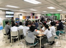 Virtual Reality Kit orientation with teachers and Students  at the Library last September 24, 2019