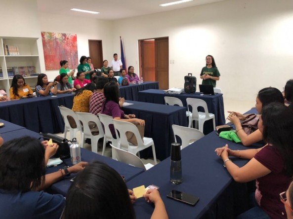 Bookmobile Reading Module training Using Literature-based Approach,September 7, 2019,Calatagan,Batangas