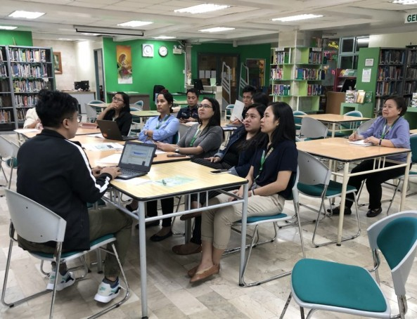 Kumustahan Session with JHS Science Department last October 19, 2019