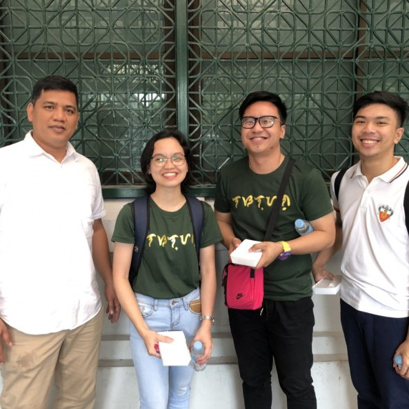 Mr. Diola,Mr. Afurong,Mr. Diño and Ms. Corvera attended the seminar entitled: UST-MALIS Seminar on Literacy Initiatives,Digital Inclusion: A Global perspective  at UST last October 19, 2019