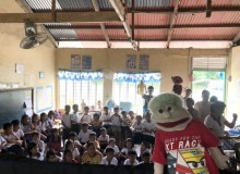 Bookmobile Library and Puppet Show was conducted by Mr. Diola,Mr. Pua,Mr. Ravalo,Mr. Afurong and Ms. Corvera at Gulod Elementary School and Calumbayan Elementary School, Calatagan, Batangas last November 14, 2019
