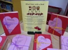 Blind Date with a Book-The Upper Grades LRC wrapped up some great books that we think you