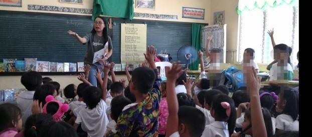 Bookmobile Library was conducted by Ms. Bansig, Mr.Diño  and Ms. Villaverde last February 11, 2020 at Sambungan Elementary School, Calatagan,Batangas