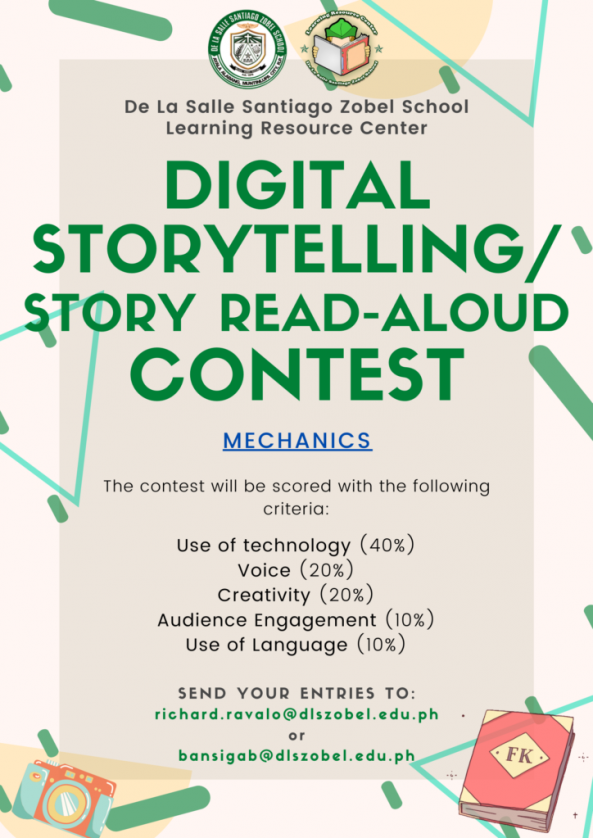 Send your entries and together let's build a community of readers!   #DLSZLRC