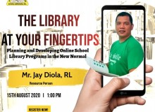 Mr. Jay Diola was invited as a Resource Speaker at PASLI
