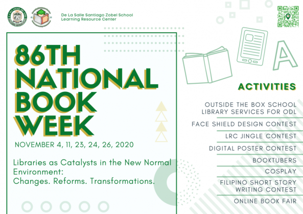 86th National Book Week Celebration
