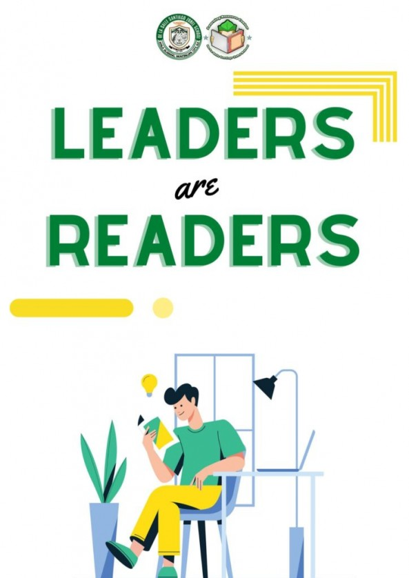 Always remember that Leaders are Readers! Read a book today! #DLSZLRC